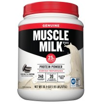 Muscle Milk® Genuine Cookies 'n Creme Protein Powder 30.9 oz. Bottle