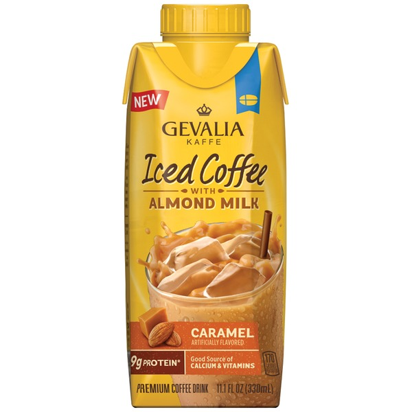 Gevalia Caramel with Almond Milk Iced Coffee