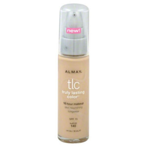 Almay Truly Lasting Color 16 Hour Makeup, Buff 140