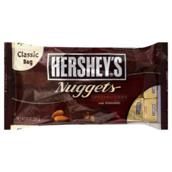 Hershey Nuggets Special Dark with Almonds Candy