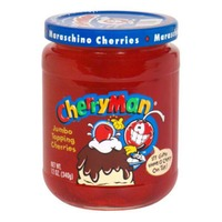 Cherry Man Jumbo Topping Maraschino Cherries