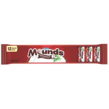 Mounds Snack Size Candy Bars, 0.6 oz, 12 ct