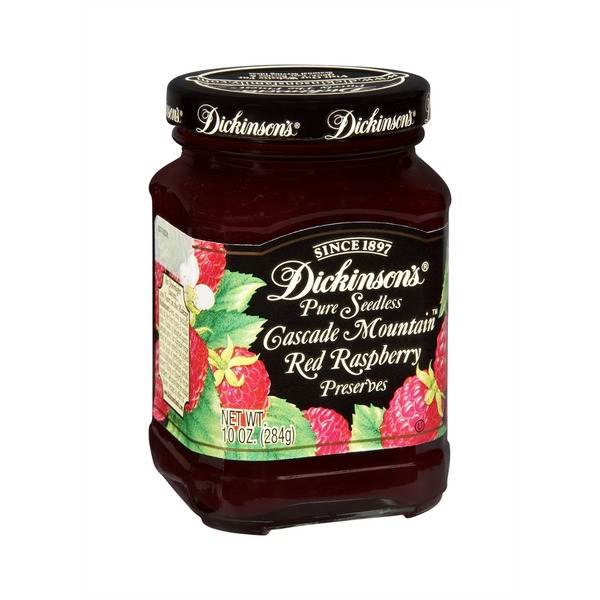 T.N. Dickinson's Cascade Mountain Pure Seedless Red Raspberry Preserves