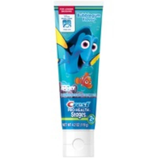 Oral-B Kid's Bubblegum Flavor Finding Dory Toothpaste