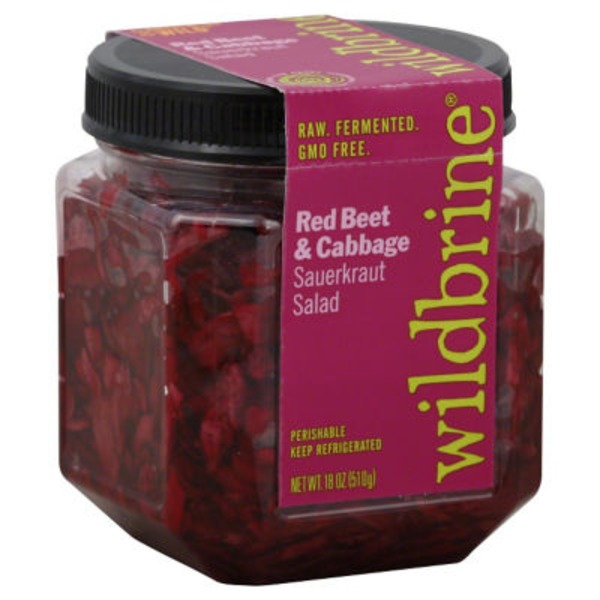 Wildbrine Red Beet & Cabbage Sauerkraut Salad