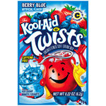 Kool-Aid Unsweetened Twists Berry Blue Drink Mix
