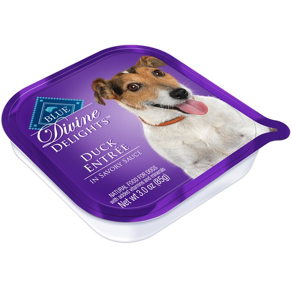 Blue Buffalo Divine Delights Duck In Sauce Wet Dog Food 3 Oz.