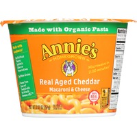 Annie's Homegrown Real Aged Cheddar Macaroni & Cheese Micro Cup Mac & Cheese
