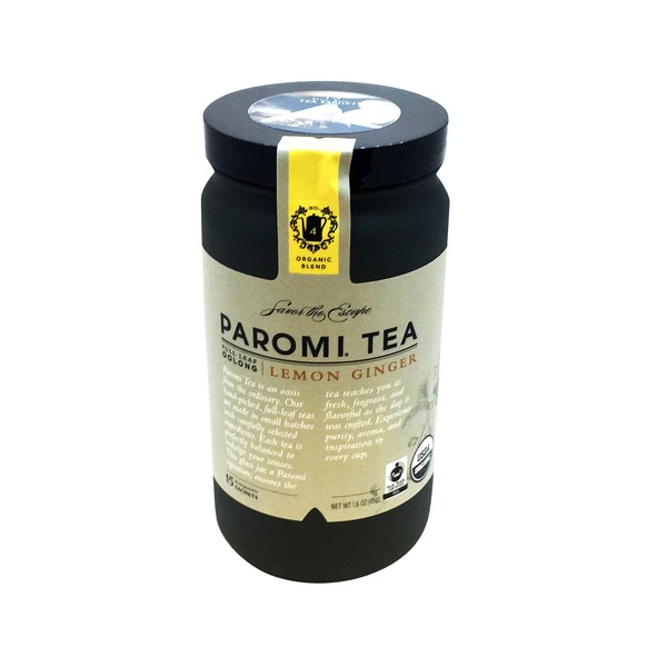 Paromi Tea Lemon Ginger Oolong Tea