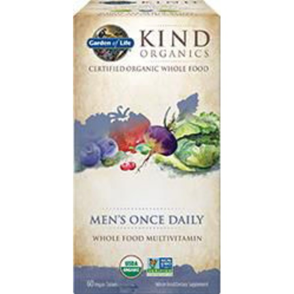 Garden of Life Mykind Organic Men's Once Daily Tablets