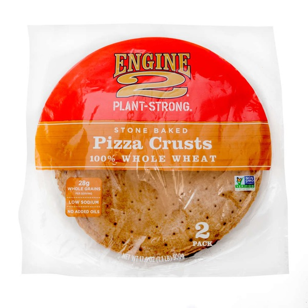 Engine 2 Stone Baked Pizza Crusts