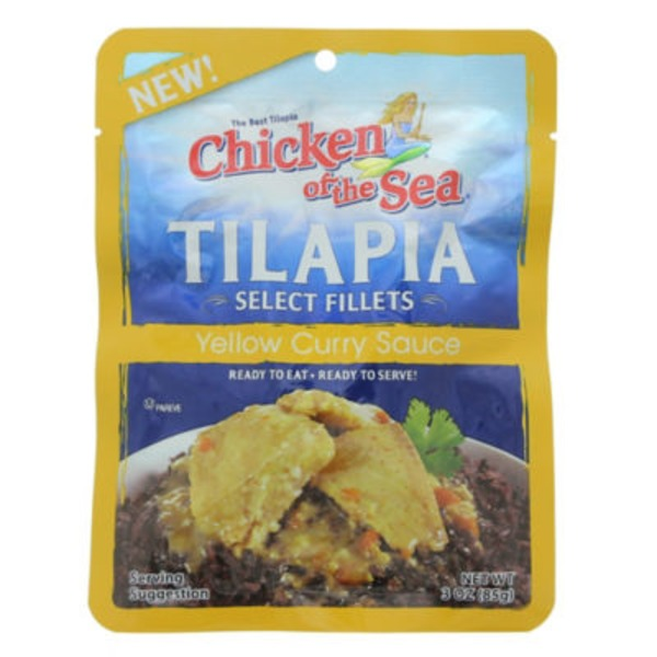 Chicken of the Sea Select Fillets in Yellow Curry Sauce Tilapia