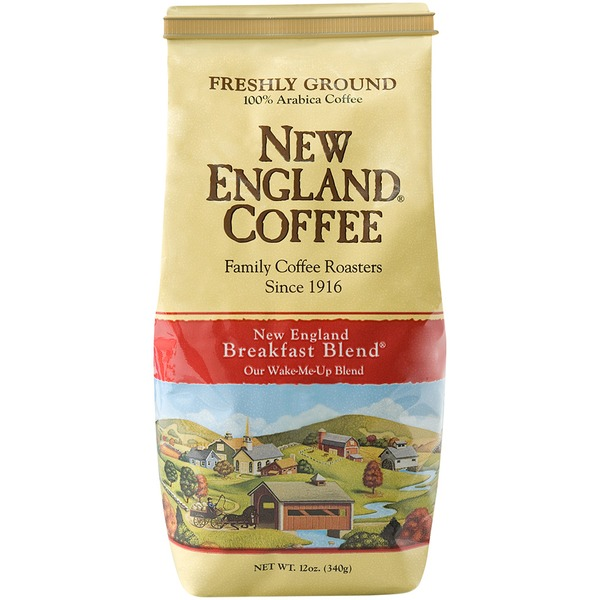 New England Coffee Freshly Ground 100% Arabica Coffee New England Breakfast Blend