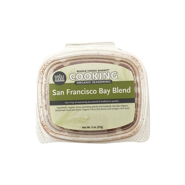 Whole Foods Market Organic San Francisco Bay Blend Seasoning