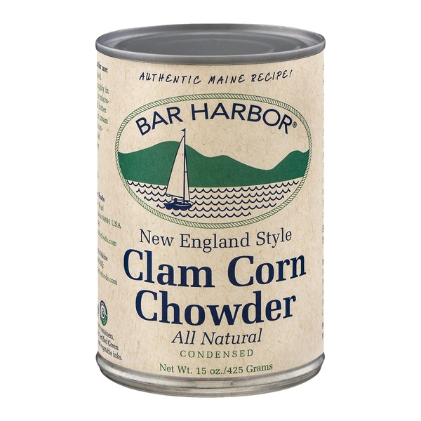 Bar Harbor Clam Corn Chowder New England Style