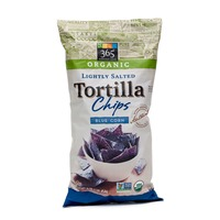 365 Organic Lightly Salted Blue Corn Tortilla Chips