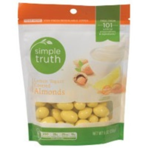 Simple Truth Lemon Yogurt Covered Almonds
