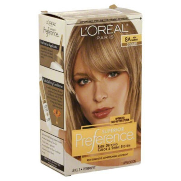 Superior Preference Cooler 8A Ash Blonde Hair Color