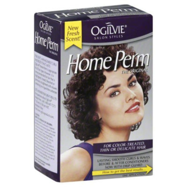 Ogilvie Salon Styles The Original For Color-Treated Thin Or Delicate Hair Home Perm