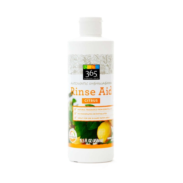 365 Automatic Dishwasher Rinse Aid Citrus