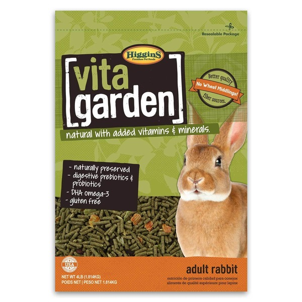 Higgins Vita Garden Rabbit Food 4 Lbs.