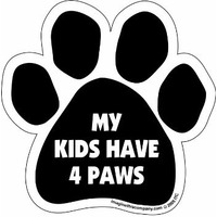 Kids Have 4 Paws Car Magnet