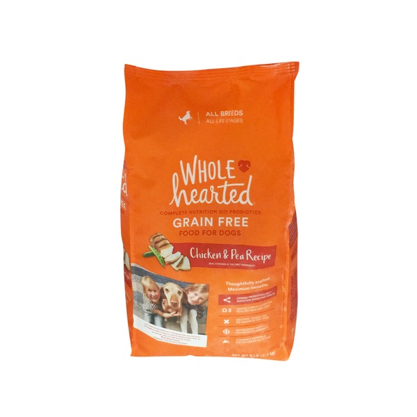 Whd Grain Free Chicken & Pea Dog Food