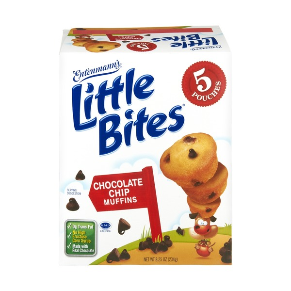 Entenmann's Little Bites Chocolate Chip Muffins - 5 PK