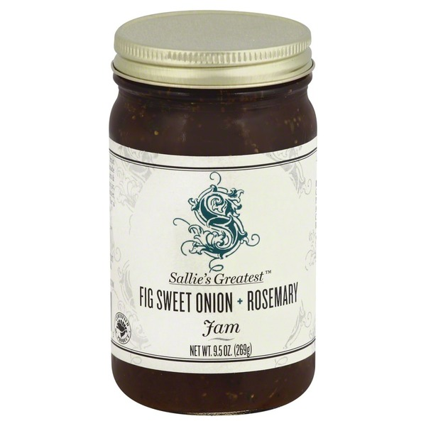 Sallie`s Greatest Jam, Fig Sweet Onion & Rosemary, Jar