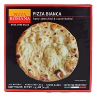 Pizza Romana Hand Stretched Pizza Bianca Crust