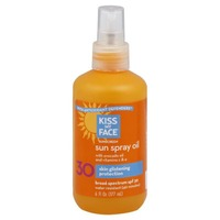 Kiss My Face Sunscreen Sun Spray Oil SPF 30