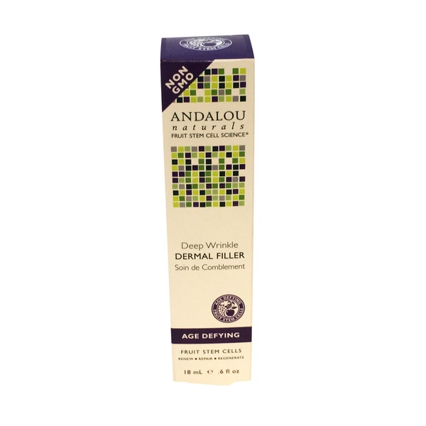 Andalou Naturals Deep Wrinkle, Dermal Filler, Age-Defying
