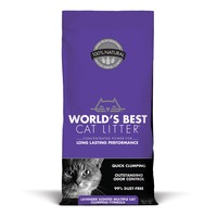 World's Best Cat Litter Scented Multiple Cat Clumping Formula 28 Lbs.