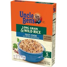 Uncle Ben's Fast Cook Long Grain & Wild Rice, 6.2 oz