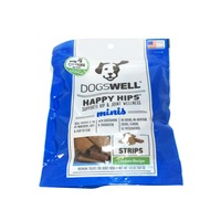 Dogswell Happy Hips Minis Strips Chicken Recipe Premium Treats for Adult Dogs