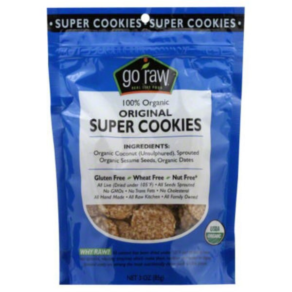 Go Raw Sweet Crunch Sprouted Cookie