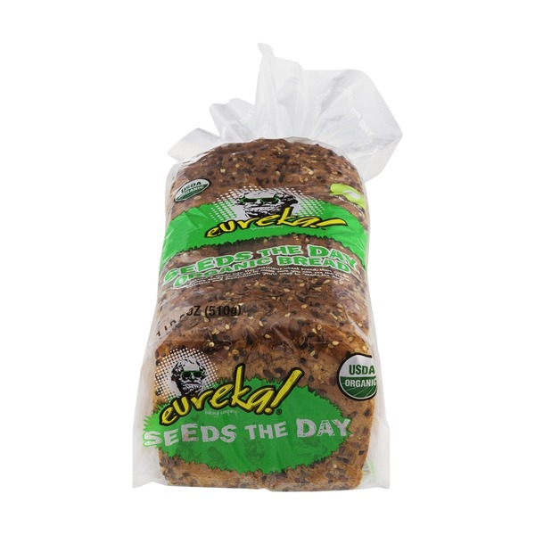 Eureka Bread, Organic, Seeds the Day