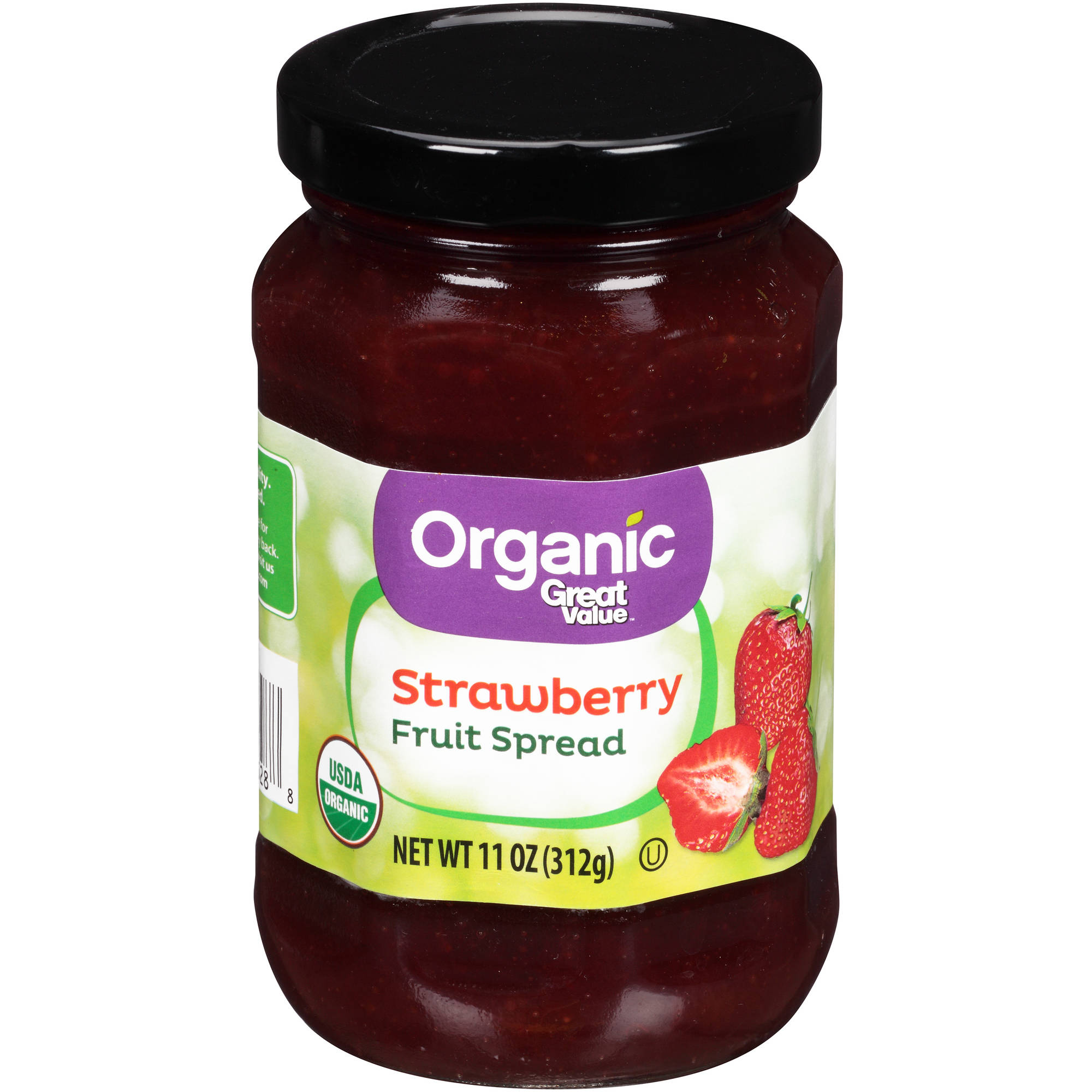 Great Value Organic Strawberry Fruit Spread