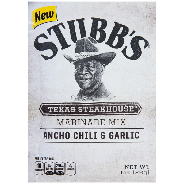 Stubb's Texas Steakhouse Marinade Mix