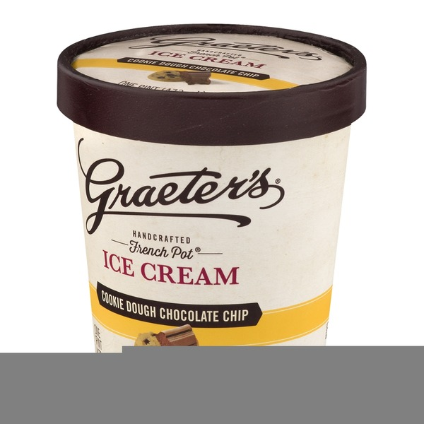 Graeter's Ice Cream Cookie Dough Chocolate Chip