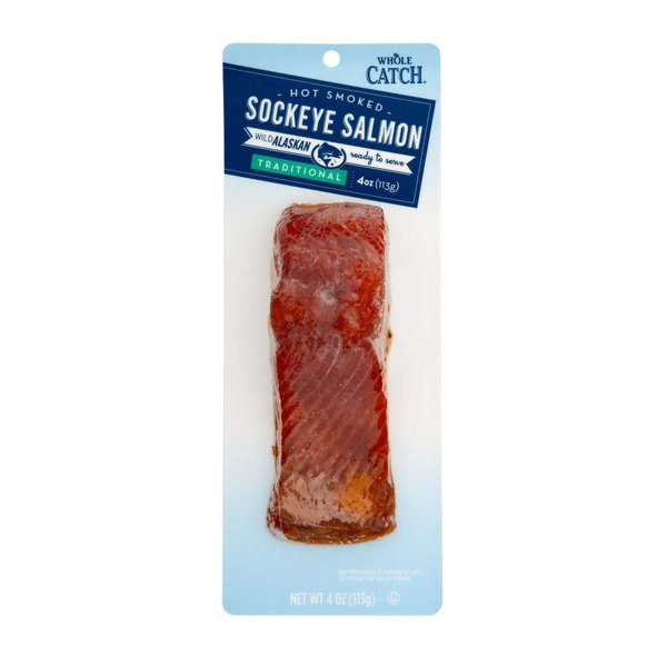 Whole Catch Traditional Hot Smoked Sockeye Salmon
