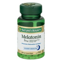 Nature's Bounty Melatonin 5 MG Rapid Release Softgels - 90 CT
