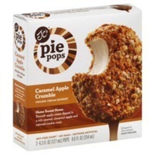 JC's Pie Pops Caramel Apple Crumble Pie Pops