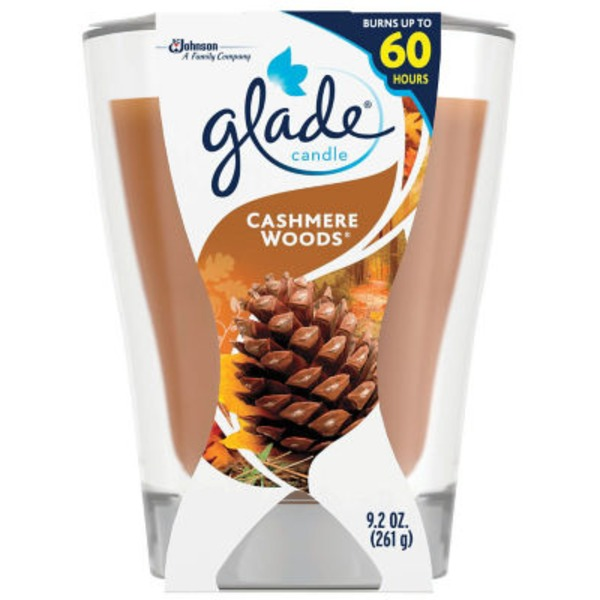 Glade Cashmere Woods Candle