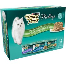 Purina Fancy Feast Medleys Primavera Collection Adult Wet Cat Food Variety Pack - (12) 2.25 lb. Cans