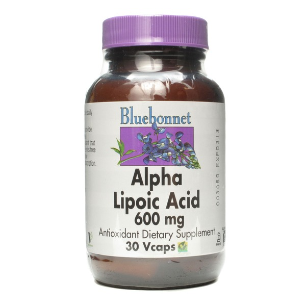 Bluebonnet Alpha Lipoic Acid 600 mg Vcaps