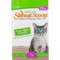 Swheat Scoop Scoopable Cat Litter Multi Cat Strength