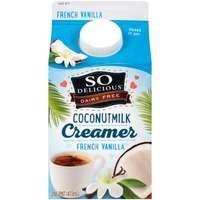 So Delicious Dairy Free French Vanilla Coconut Milk Creamer