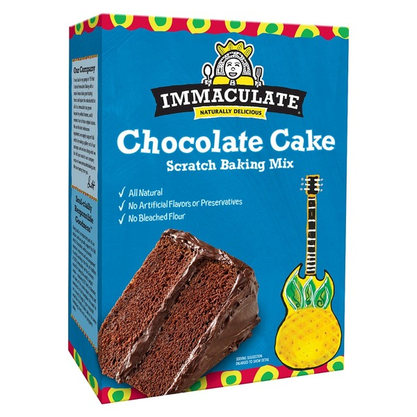 Immaculate Bakery Chocolate Cake Scratch Baking Mix