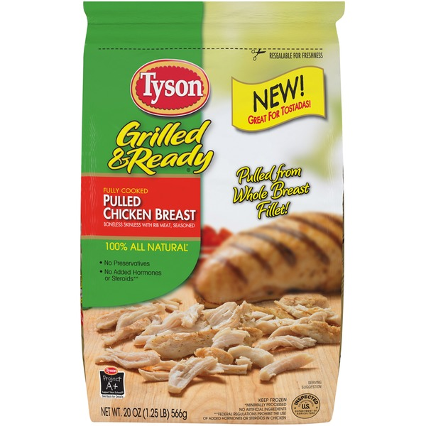 Tyson   Grilled And Ready Grilled and Ready Pulled Chicken Breast